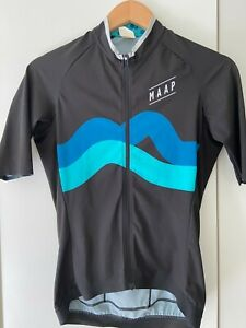 MAAP Fat Stripe 'mod fit' aero fit cycling jersey - medium, black
