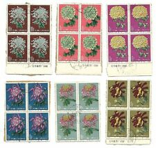 Briefmarken mit Blumen aus China
