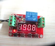 DC 12V Multi-function Self-lock Cycle PLC Timer Relay Module Delay Time Switch