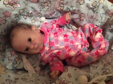 """ADORABLE ReBoRn BaBy GiRL """"PiXiE"""" By BoNNiE BrOWn GHSP MICRO ROOTED HaiR"""