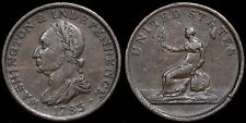 United States, America. Washington And Independence One Cent Token, 1783.