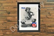 Terry Donahue Poster Signed Autograph Reprint AAGPBL Baseball Card 8x10 Inches