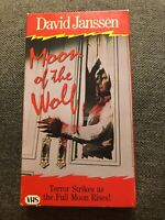 Moon Of The Wolf Rare & OOP Horror Movie Goodtimes Home Video Release VHS 1983