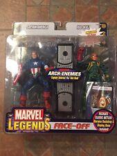 Marvel Legends CAPTAIN AMERICA Vs BARON VON STRUCKER Face-Off Two Pack Sealed