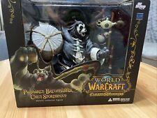 World of Warcraft Pandaren Brewmaster Chen Stormstout Deluxe Action Figure New