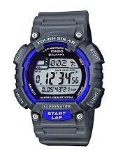Casio Core Men's STL-S100H-8AVCF Digital Solar-Powered Gray/Purple Resin Watch