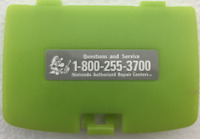 Kiwi Lime Green Battery Cover Game Boy Color GBC Replacement Door NEW + Sticker