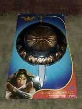 Wonder Woman plastic Cosplay Sword & Shield Costume Prop Halloween Gift Tactical