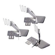 3pcs/set Sewing Machine Double Fold Binder Cover Stitch Flat Fold Edge