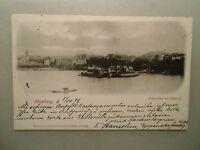 Ansichtskarte Hamburg Außenalster m. Alsterlust 1898