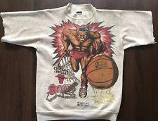 Vintage '94 Tultex Chicago Bulls Mens Large NBA T Shirt Sweatshirt Modified