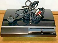Sony PlayStation 3 40GB / Console GWO with leads / CECH-G03 Free P&P