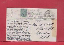 Sydney NS Cape Breton 2x Halifax DLO oval & circle 1910 Dead Letter Office pc