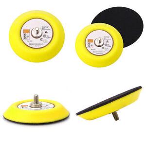 "Polishing Sander Backer Plate Napping Hook And Loop Sanding Disc Pad 2""/3""/4""`ju"