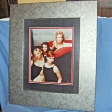 #1409 - LARGE SEX & THE CITY PROMOTIONAL STILL PHOTO - FRAMED WALL ART