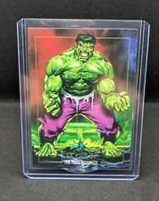 1992 Marvel Masterpieces Hulk #32 Mint