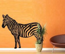 Zebra II  - highest quality wall decal stickers