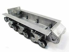 Mato 1/16 Rc Tank Sherman Metal Chassis With Suspension And Road Wheels Mt188