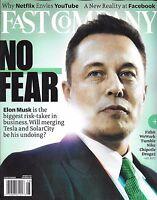 Elon Musk Fast Company Magazine YouTube David Droga Tough Mudder Facebook 2017