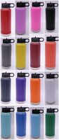 POLAR CAMEL 32 oz DOUBLE WALL INSULATED WATER BOTTLE FLIP LID WITH STRAW