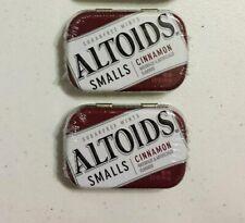 X2 Altoids Smalls Sealed Sugar Free Cinnamon Tins 50 each (100 mints)