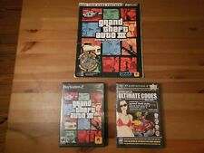 Grand Theft Auto III 3 w/ Ultimate Codes & Strategy Guide (PS2 Playstation 2)
