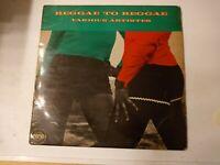 Reggae To Reggae - Various Artists Vinyl LP