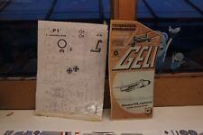 """GELI modellbogen Nr. 30 électrique P1B """"LIGHTNING"""" Original Papier Modèle Avion"""