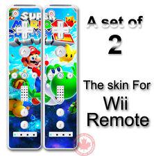 SUPER MARIO GALAXY 2 NEW SKIN STICKER #1 for Wii Remote