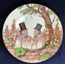 Vintage Royal Doulton Cabinet 26 cm Plate Series Ware D5680 Zunday Zmocks