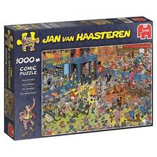 JUMBO JIGSAW PUZZLE ROLLER DISCO JAN VAN HAASTEREN 1000 PCS CARTOON #19060
