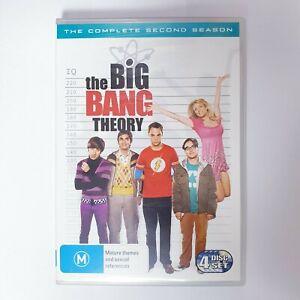 The Big Bang Theory Season 2 DVD TV Series Free Post Region 4 AUS - Comedy