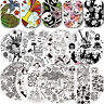 Nail Stamping Plates Nail Art Stamp Design Template Stencil Born Pretty DIY
