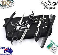 "6.5"" Salon Hairdressing Scissors Hair Barber Shears Cutting Thinning Razor set"
