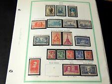 France 1940/1959 - Collection 20 années complètes neufs ** sans charnière