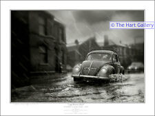 VW Volkswagen Beetle Bug Car Print Picture Stourbridge Limited Edition Signed