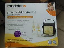 Medela Pump In Style Advanced Breastpump Starter Set Model # 57081 opened box