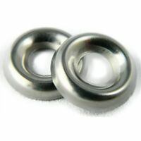 """Stainless Steel Cup Washer Finishing Countersunk 5/16"""" Qty 100"""