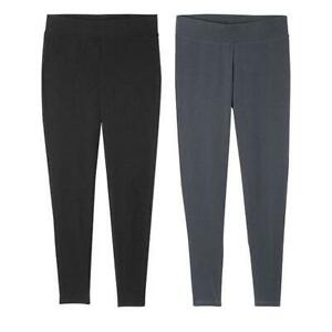 Avon Everyday Legging 2 Pack Black & Gray Size 3X (26W-28W) New