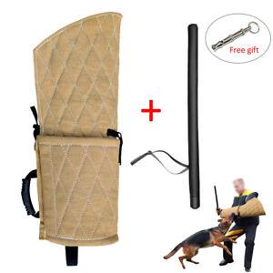Dog Bite Sleeve & Stick Whip Training Working Dogs Large POLICE DOGS Schutzhund