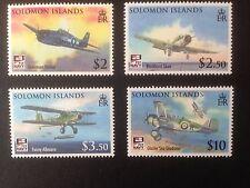 Islas Salomón 2009 conjunto de Aviación Naval SG 1269-1272 Fine Used