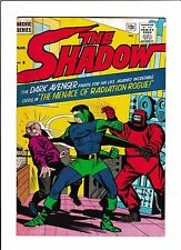 """THE SHADOW #5  [1965 GD-VG]  """"THE MENACE OF RADIATION ROGUE!"""""""