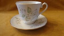 Duchess English Bone China Tea cup set pattern White Dogwood Cherry Blossom LQQK