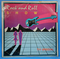ROCK AND ROLL SHOW VINYL 5X LP 1984 VARIOUS BEACH BOYS GREAT CONDITION VG+/VG!!