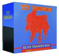 Pokemon TCG Sword and Shield Zamazenta Elite Trainer Box ETB