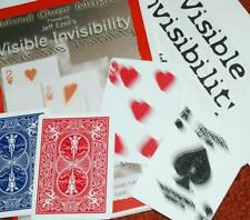 Visible Invisibility --slo-motion card face vanish --custom Bicycle cards   TMGS