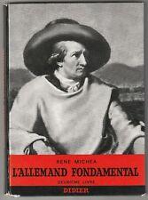 L'allemand fondamental 2ème livre René Michea