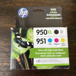 GENUINE HP 950XL Black, 951 Colors Combo Pack Ink Cartridges (2023) C2P01FN NEW!
