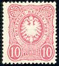 DR 1879, MiNr. 33 b, postfrisch, Befund Jäschke-Lantelme, Mi. 750,-