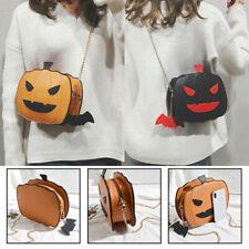 Women Pumpkin Handbag Halloween Candy Bag Little Devil Shoulder Messenger Bag US